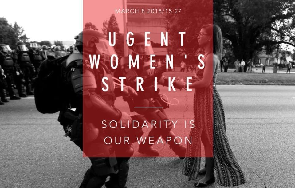 universiteit gent women's strike