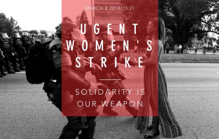 universiteit gent women's strike